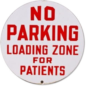 No Parking Patients Only Doctors Office Sign