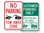 All Tow-Away Signs