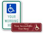 No Public Access Signs