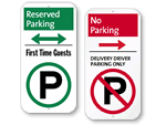 Custom iParking Signs
