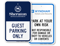 Hotel Chain Signs