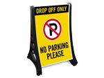 Large Drop Off / Pick Up Signs