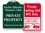 More Custom No Parking Sign Templates