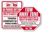 No Parking Tow Away
