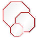 Octagon Custom Sign Blanks