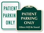 Patient & Hospital Parking