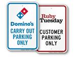 Restaurant Chain Signs