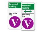 Valet iParking Signs