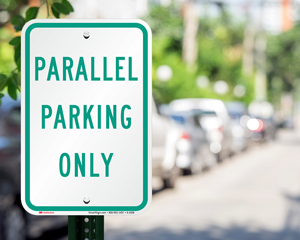 Parallel parking signs