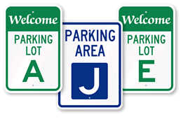 parking lot signs amp parking area signs aj