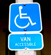Access Signs Requirements for Van-Accessible Parking Spaces