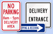 Delivery Truck Signs