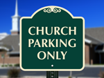 Designer Church Signs