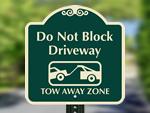 Don't Block Driveway