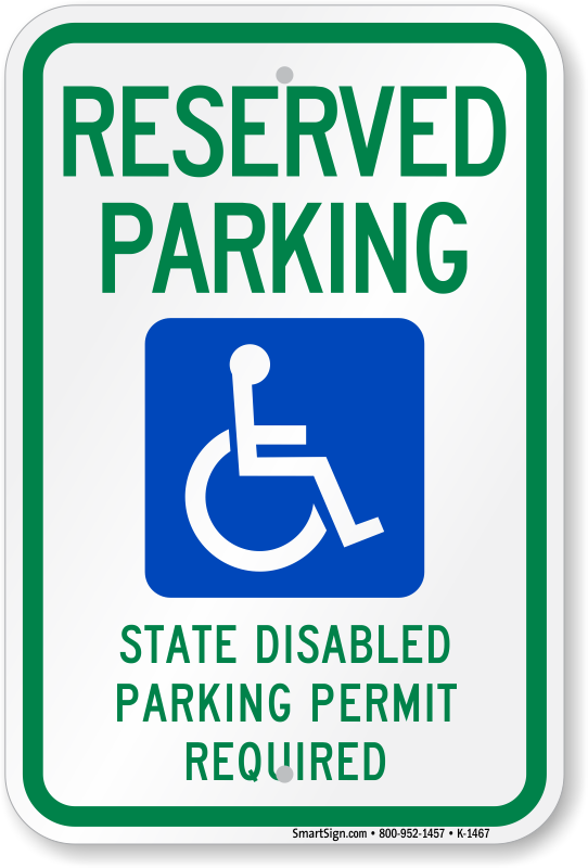 ADA Parking Signs | Handicapped Parking Signs