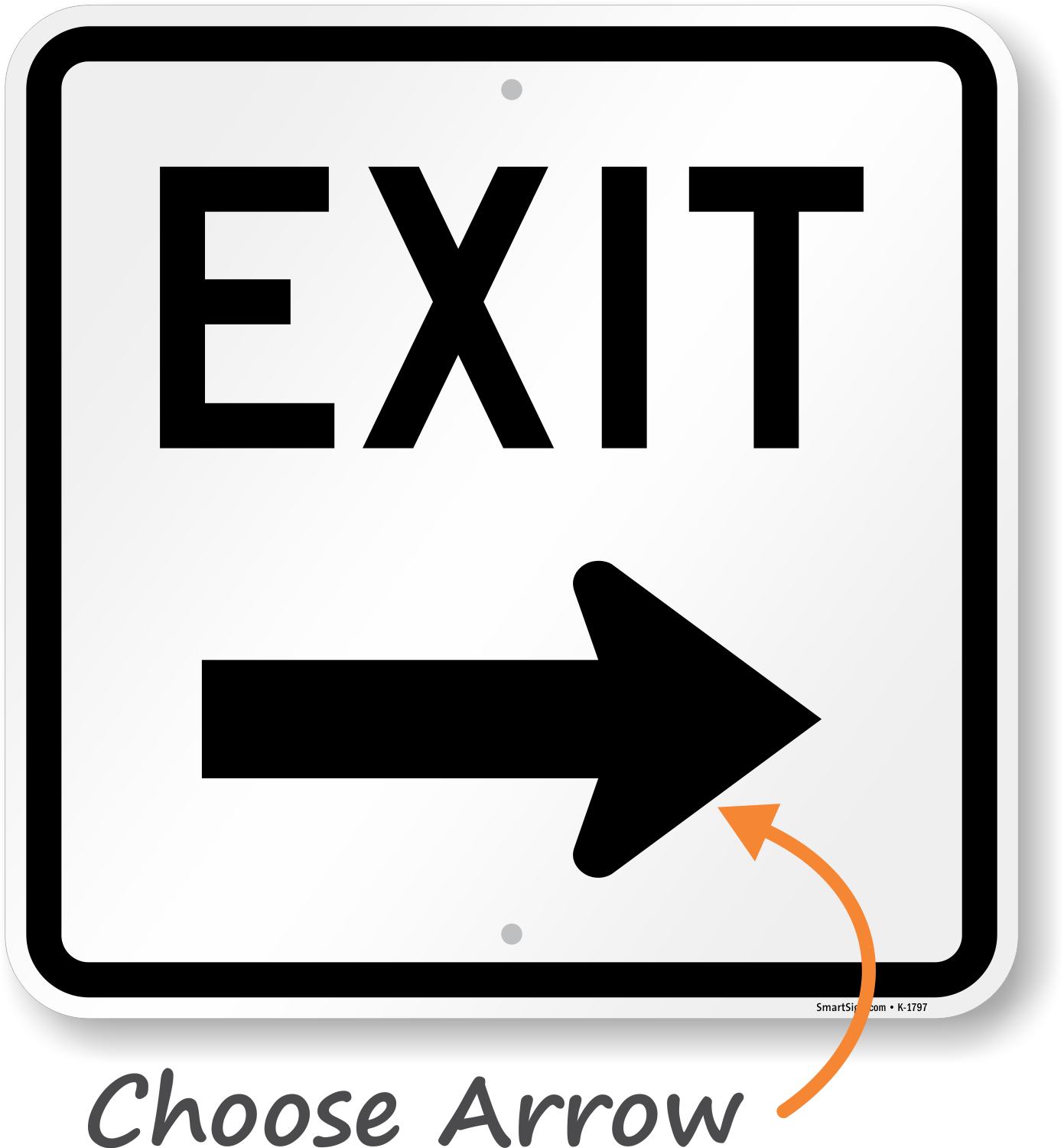 Exit Only Signs & Exit Parking Lot Signs