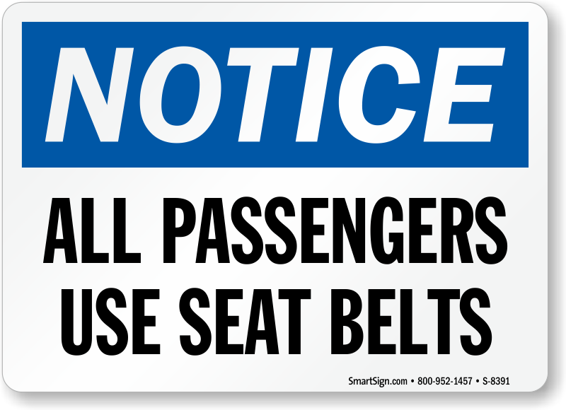 seat belts use The use of seat-belts and child restraints is one of the most important 122 how a seat-belt works seat-belts and child restraints are secondary safety devices.