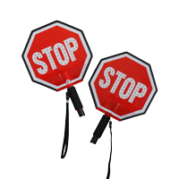 Led Stop PaddleSign