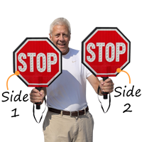 led stop paddle Sign