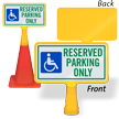 Reserved Parking Only ConeBoss Sign