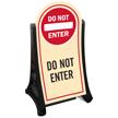Do Not Enter Sidewalk Sign Kit