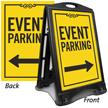 Event Parking Directional Portable Sidewalk Sign
