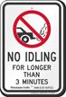 State Idle Sign for Philadelphia, Pennsylvania