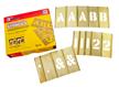Brass Interlocking Numbers Letters Stencil Set, 92 Piece