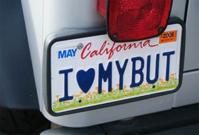 This could have been my personalized license plate for about 20 years.