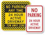 24 Hour Active Driveway