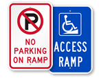 Access Ramp Signs