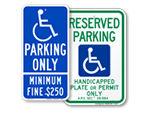 ADA Parking Signs