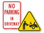 All Driveway Signs