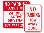 All Tow Away Signs