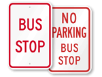 Bus Stop Signs