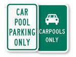 Carpool Signs