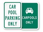 Carpool Signs