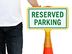 ConeBoss Reserved Parking Signs