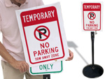 Parking Sign Covers