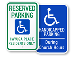 Custom Access Signs