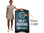 Custom BigBoss Signs for Parking Lots