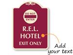 Custom Designer Sign Templates