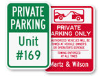 Custom Private Parking Signs