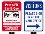 Custom Signs for Visitors
