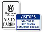 Custom Visitor Signs