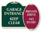Decorative Driveway Signs
