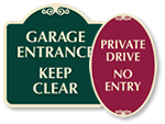 Decorative Driveway Signs