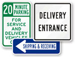 Delivery Parking Signs