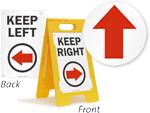 Directional Floor Signs
