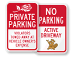 """Friendlier"" Parking Signs"